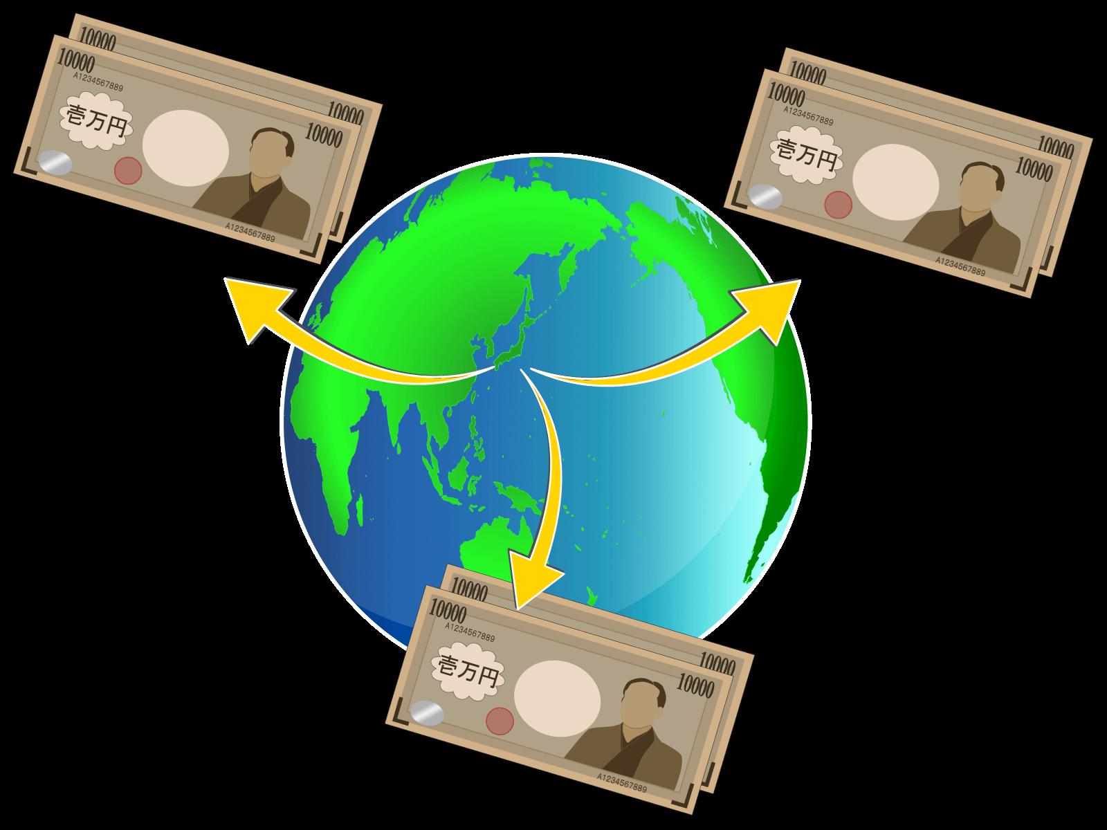 送金のイメージ画像